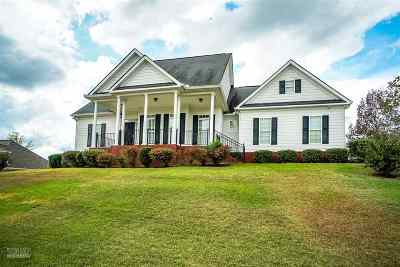Macon Single Family Home For Sale: 4003 Justin Way