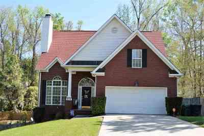 Macon Single Family Home For Sale: 614 Lokchapee Ridge