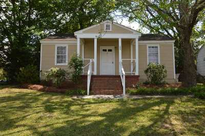 Warner Robins GA Single Family Home For Sale: $31,000