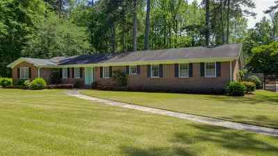 Macon Single Family Home For Sale: 5016 Zebulon Road