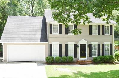 Macon Single Family Home For Sale: 5124 Smoke Rise Drive
