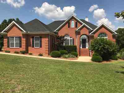 Macon Single Family Home For Sale: 9743 Lower Thomaston Road