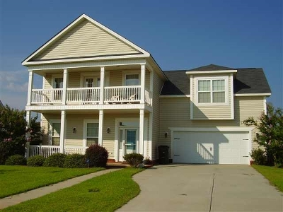Single Family Home For Sale: 207 Raleigh Drive