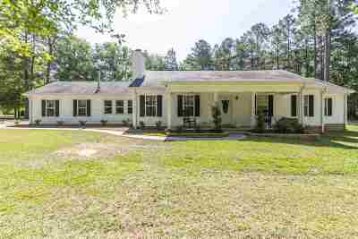 Perry Single Family Home For Sale: 100 Mossy Lake Road