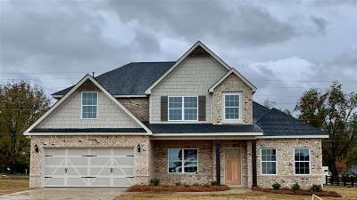 Kathleen Single Family Home For Sale: Lot 140 Mossy Meadows