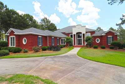 Bibb County, Crawford County, Houston County, Monroe County, Peach County Single Family Home For Sale: 1223 Deer Run Trail
