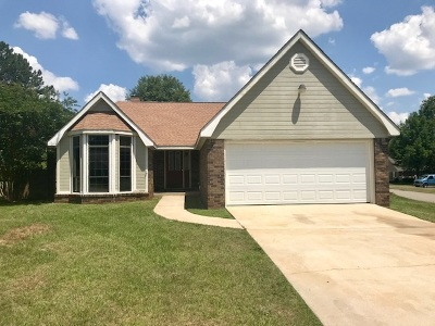 Warner Robins Single Family Home For Sale: 100 Vinson Court