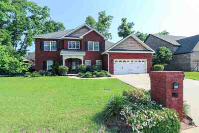 Warner Robins Single Family Home For Sale: 612 Cheshire Drive