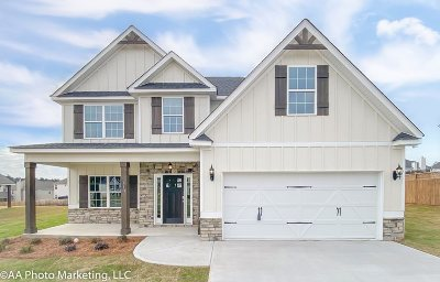 Houston County, Peach County Single Family Home For Sale: Lot 35 Summer Branch