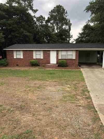 Perry Single Family Home For Sale: 2308 Marshallville Road