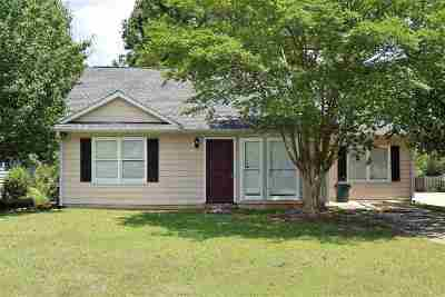 Macon Single Family Home For Sale: 515 Moss Hill