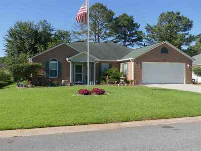 Warner Robins Single Family Home For Sale: 306 Northfield Drive