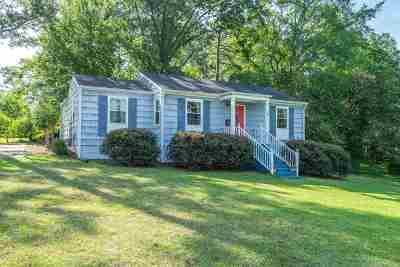 Macon Single Family Home For Sale: 705 Thurmond Drive