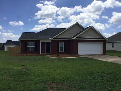 Warner Robins Single Family Home For Sale: 203 Jerusalem Church Road