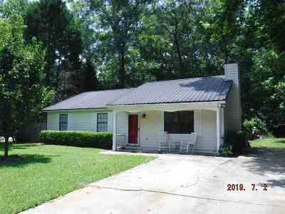 Macon Single Family Home For Sale: 573 Will Scarlet Way