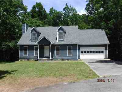 Macon Single Family Home For Sale: 943 Galahad Circle
