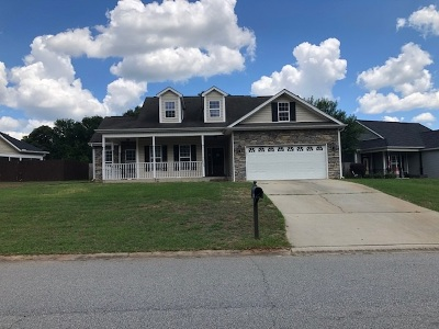 Kathleen Single Family Home For Sale: 201 Wooden Eagle Trail