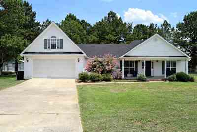 Macon Single Family Home For Sale: 712 Amanda Ct
