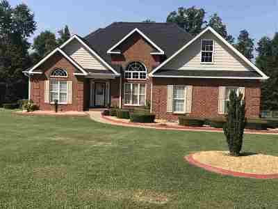Macon Single Family Home For Sale: 151 Chapman Ridge Road