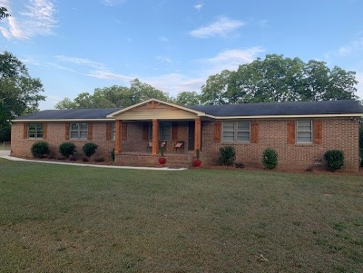 Macon Single Family Home For Sale: 6609 Vinson Road