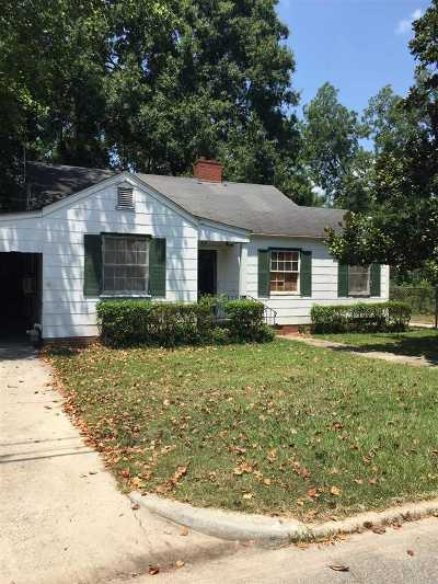 Fort Valley Single Family Home For Sale: 604 Belle Street