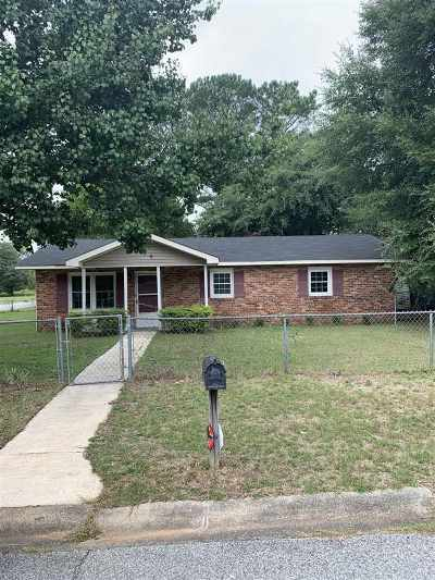Warner Robins Single Family Home For Sale: 206 Chuck Circle