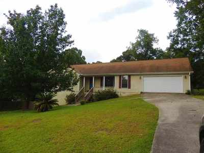 Warner Robins Single Family Home For Sale: 151 Stewart Dr.
