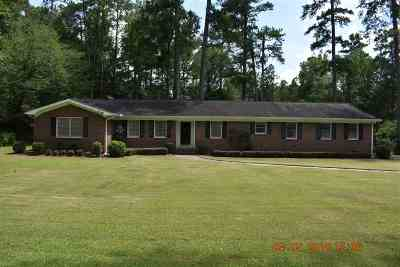 Macon Single Family Home For Sale: 5016 Zebulon Road