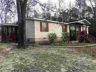 Fort Valley GA Single Family Home For Sale: $62,000