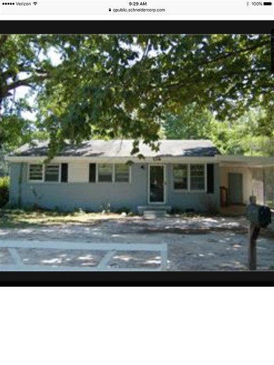 Single Family Home For Sale: 116 Mockingbird Ln Lane