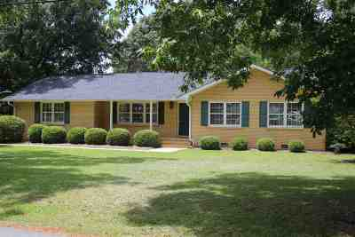 Perry Single Family Home For Sale: 1003 Glenwood Avenue