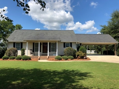Single Family Home For Sale: 384 Mac Thompson Road