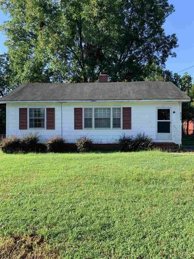 Warner Robins Single Family Home Contingent: 404 Diggs Boulevard