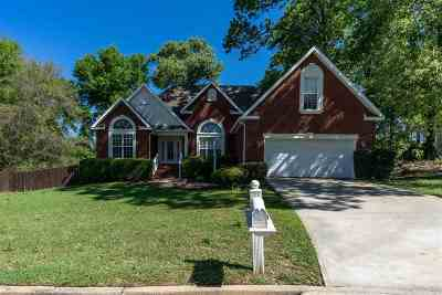 Warner Robins Single Family Home For Sale: 142 Holly Pointe