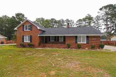 Macon Single Family Home For Sale: 6670 Fran Drive
