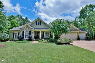 Columbus Single Family Home For Sale: 555 Old Double Churches Road