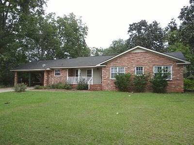 Hamilton GA Single Family Home For Sale: $144,900