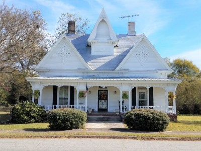 Talbotton Single Family Home For Sale: 344 Jackson Avenue