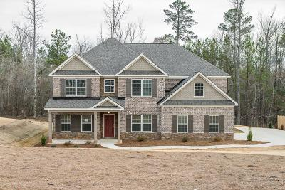 Fortson Single Family Home For Sale: 161 Hart Preserve
