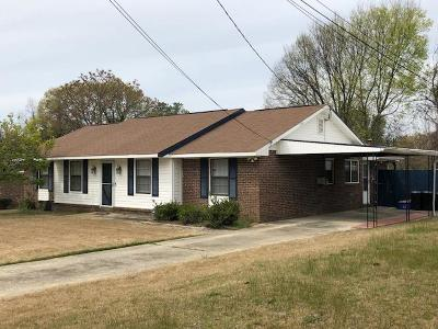 Columbus GA Single Family Home For Sale: $129,900