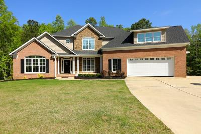 Muscogee County Single Family Home For Sale: 8145 Saddlehorn Drive