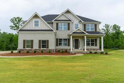 Fortson Single Family Home For Sale: 60 Hart Preserve