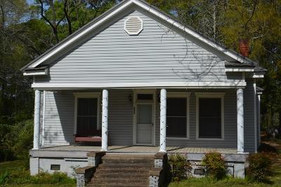 Hamilton GA Single Family Home For Sale: $59,900