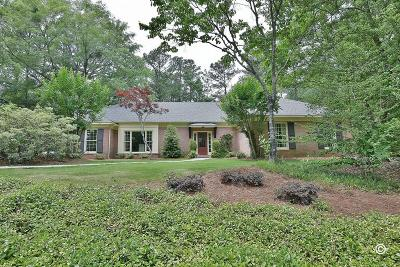 Muscogee County Single Family Home For Sale: 6909 Warm Springs Road