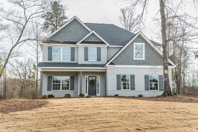 Fortson Single Family Home For Sale: 25 Hart Preserve