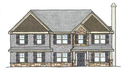 Fortson Single Family Home For Sale: Lot 61 Hart Preserve