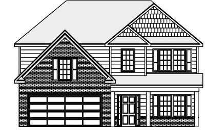 Fortson Single Family Home For Sale: Lot 62 Hart Preserve