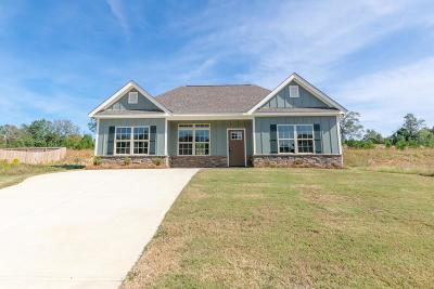 Phenix City Single Family Home For Sale: 7 Vineyard Drive