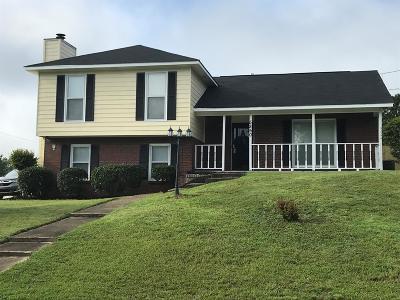 Columbus GA Single Family Home For Sale: $130,000