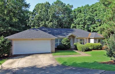 Columbus GA Single Family Home For Sale: $174,900